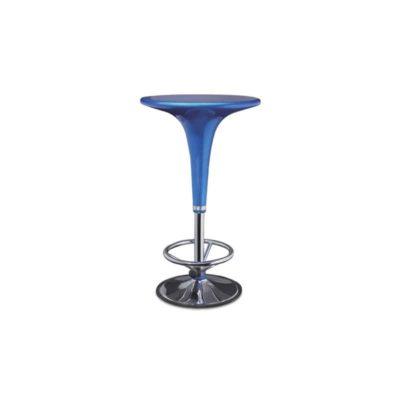 mesa bar con reposapie